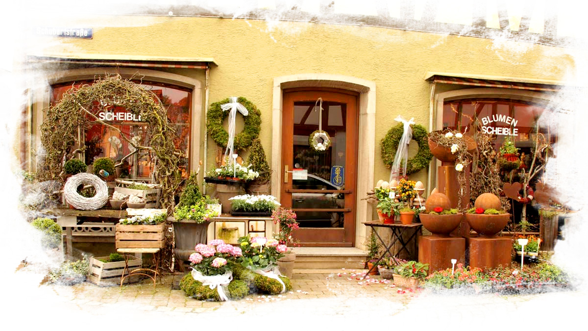 Blumen Scheible in Obersontheim