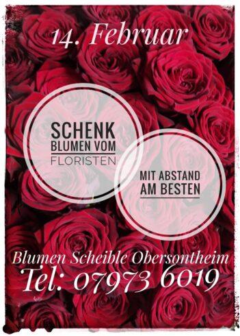 Schenk Blumen vom Floristen!